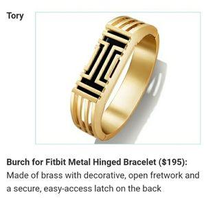 Tory Burch fit bit bracelet